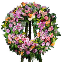 Multicoloured Classic Wreath